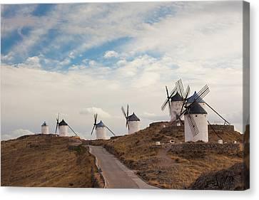 Spain, Castile-la Mancha Region, Toledo Canvas Print by Walter Bibikow