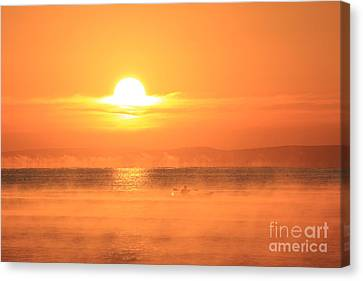One Beautiful Morning... Canvas Print