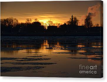 Sunrise Canvas Print by Randy J Heath
