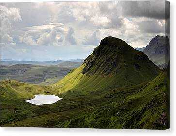 The Quiraing Canvas Print by Grant Glendinning