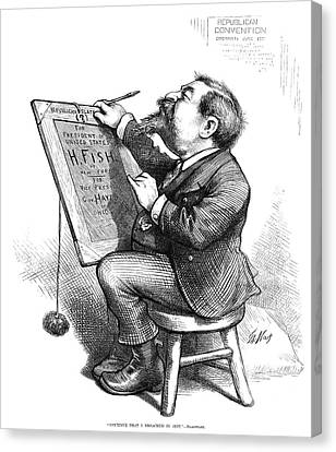 Thomas Nast (1840-1902) Canvas Print by Granger