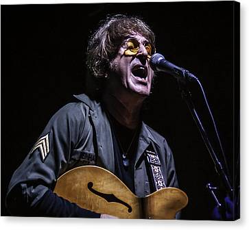 Tim Piper As John Lennon Canvas Print by Salvador Gomez