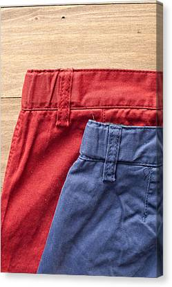 Designers Choice Canvas Print - Trousers by Tom Gowanlock