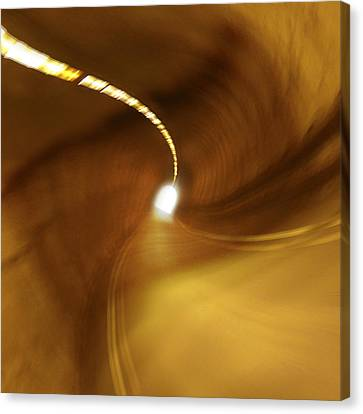 Tunnel Vision Canvas Print by Mike McGlothlen
