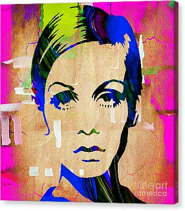 Twiggy Collection Canvas Print