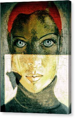 Untitled Canvas Print by Ton Dirven