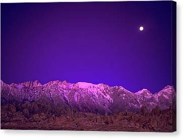 Usa, California, Alabama Hills Canvas Print