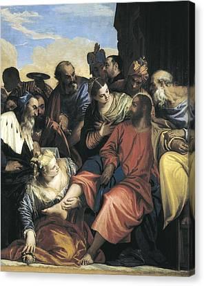Veronese, Paolo Caliari, Called Paolo Canvas Print