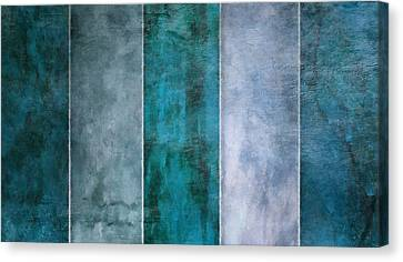 5 Water Canvas Print by Angelina Vick