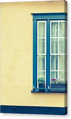 Window  Canvas Print by Tom Gowanlock