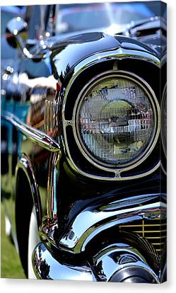 Canvas Print featuring the photograph 50's Chevy by Dean Ferreira