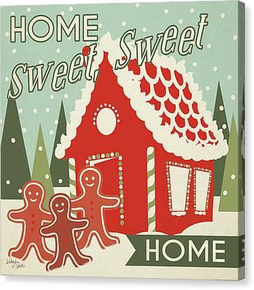 50s Christmas IIi Canvas Print by Wellington Studio