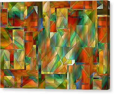 53 Doors Canvas Print by RC deWinter