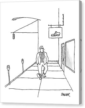 New Yorker March 10th, 2008 Canvas Print