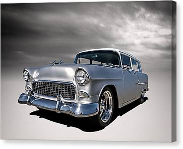 '55 Handyman Wagon Canvas Print by Douglas Pittman