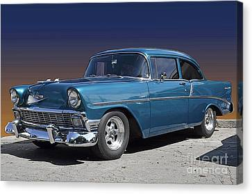 56 Chevy Canvas Print