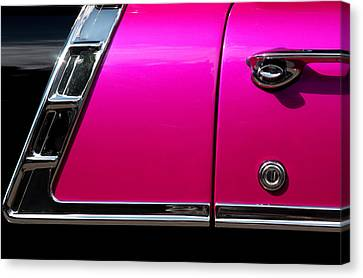 56 Chevy Two Tone Canvas Print by Steve Raley