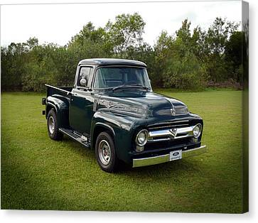 Canvas Print featuring the photograph 56 F100 by Keith Hawley