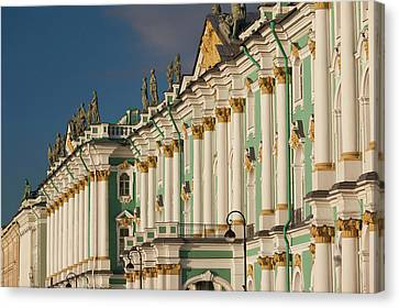 Hermitage Canvas Print - Russia, Saint Petersburg, Center by Walter Bibikow