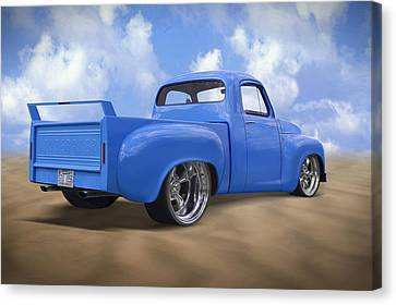 56 Studebaker Truck Canvas Print by Mike McGlothlen