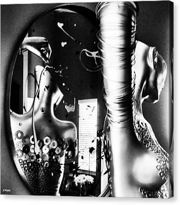 Untitled Canvas Print by Barbara Ruano