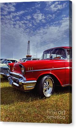 57 Chevy Belair Canvas Print