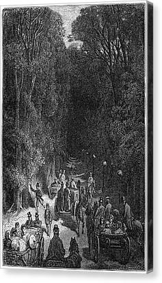 Dor� London, 1872 Canvas Print