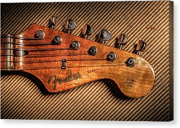 '57 Stratocaster Canvas Print by Ray Congrove