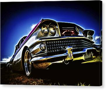 58 Buick Special Canvas Print by motography aka Phil Clark