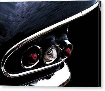 '58 Chevy Impala Fin Canvas Print by Douglas Pittman