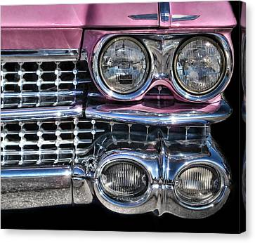 59 Caddy Lights Canvas Print