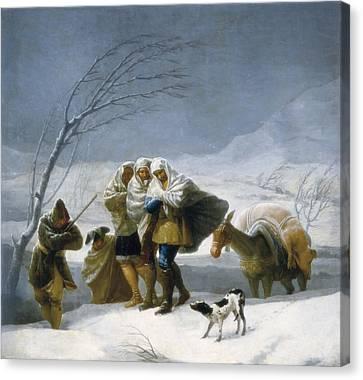 Goya Y Lucientes, Francisco De Canvas Print by Everett