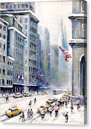 5th Ave Nyc Canvas Print