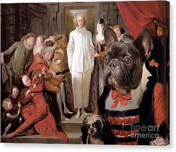 French Bulldog Art Canvas Print Canvas Print