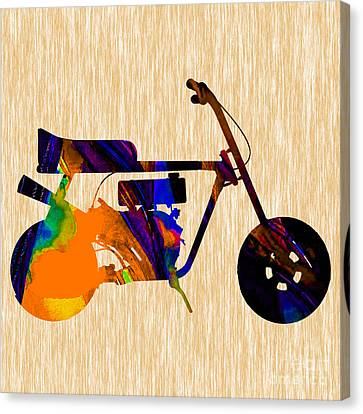 1960s Mini Bike Canvas Print