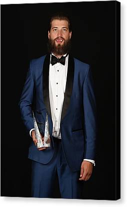 2015 Nhl Awards - Portraits Canvas Print by Brian Babineau