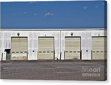 6 7 8 9 Warehouse  Canvas Print by JW Hanley