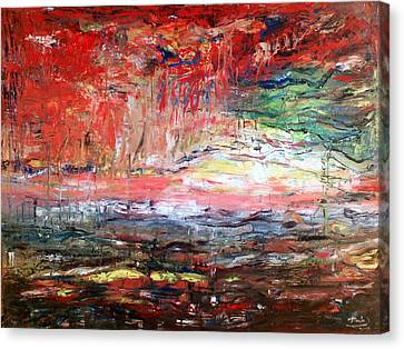 Abstract Canvas Print by Deeb Marabeh