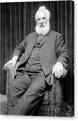 Ewing Canvas Print - Alexander Graham Bell by Science Source