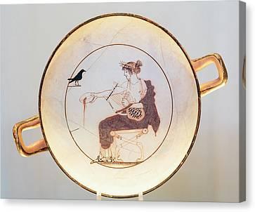 Ancient Delphi, Greece. Museum Canvas Print