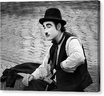 6 - Anything Else - French Mime Canvas Print by Nikolyn McDonald