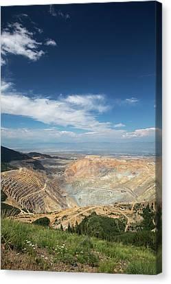 Bingham Canyon Copper Mine Canvas Print