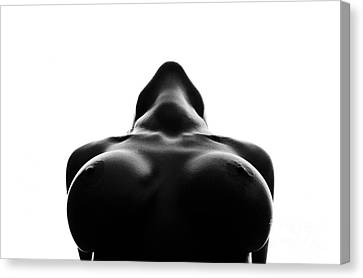 Black And White Nude Canvas Print