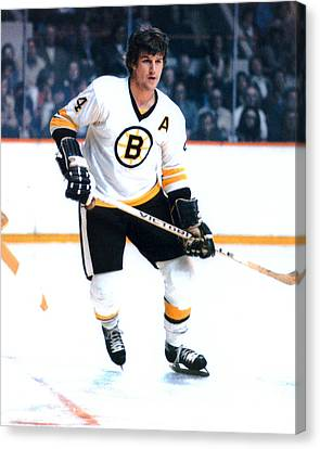 Scoring Canvas Print - Bobby Orr by Retro Images Archive