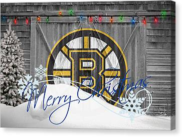 Boston Bruins Canvas Print by Joe Hamilton