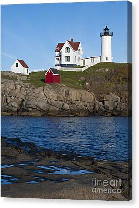 Cape Neddick Lighthouse Canvas Print by John Shaw