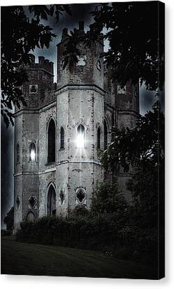 Creepy Canvas Print - Castle by Joana Kruse