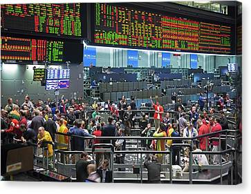 Chicago Mercantile Exchange Canvas Print by Jim West