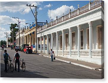 Cuba, Pinar Del Rio Province, Pinar Del Canvas Print by Walter Bibikow