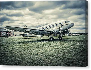 Transportion Canvas Print - Dc-3  by Chris Smith